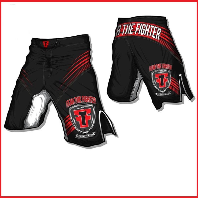 Free shipping 1pcs Men Muay Thai Fight Shorts MMA Kick Boxing Grappling Martial Arts Gear Boxing Shorts(China (Mainland))