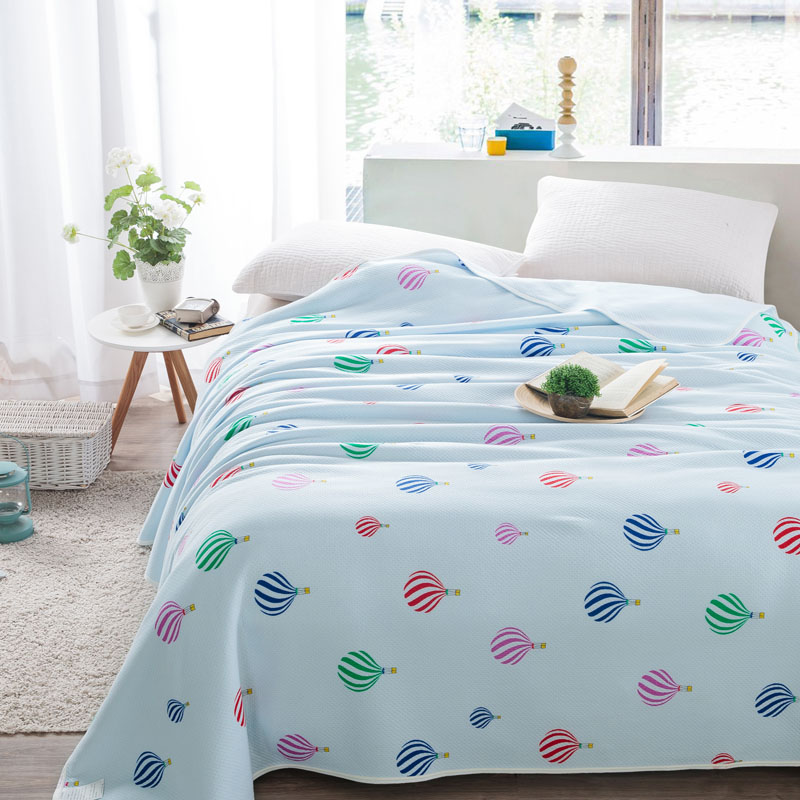 100*150cm,150*200cm,180*200cm,200*230cm, Summer soft Comforter/ Cotton air conditioning Coverlet / cotton Kids Cot Quilt(China (Mainland))
