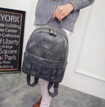PU leather women backpack outdoor travel bags female ladies mochila infantil escolar feminina for teenagers school girls(China (Mainland))