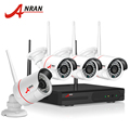 ANRAN New Listing Anran Plug and Play Wireless NVR Kit P2P 720P HD Outdoor IR Night