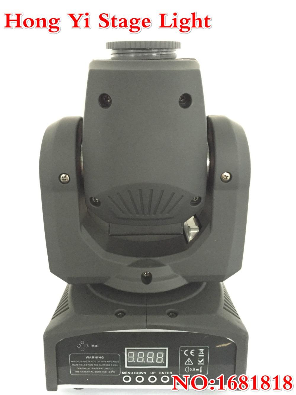 2016 Hot Factory direct sale 30w LED Moving Head Lights spotlight dj set gobo dj light projector for bar event(China (Mainland))