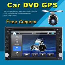 Car Electronic Double 2 Din Car DVD Player Auto Radio GPS In Dash Car PC Stereo Video Free Map Free Camer RDS For VW Universal(China (Mainland))