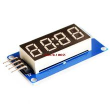 4 Bits Digital Tube LED Display Module With Clock Display TM1637 for Arduino Raspberry PI(China (Mainland))