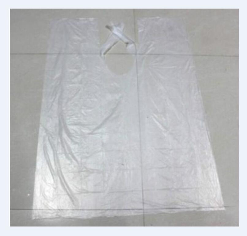 200pc/lot Wholesale Disposable Hair cutting Cape Salon Gown /Hair Cut Cutting Salon Stylist Cape Nylon Barber Cloth(China (Mainland))