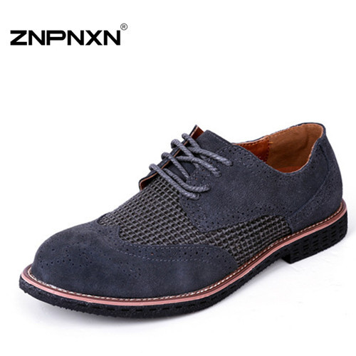 Genuine Leather Men Flats Shoes Handmade Oxford Shoes For Men Loafers Moccasins Zapatos Hombre Male Chaussures Sapatas 001