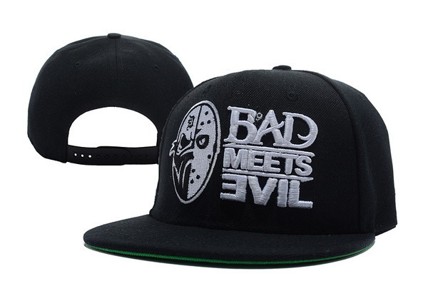 Free Shipping Top Selling Eminem Bad Meet Evil Snapback cap hip hop style baseball caps men women hat(China (Mainland))