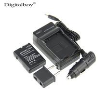 Buy  (4pcs/set) 1PCS EN-EL14 ENEL14 EN EL14 Camera Battery+Charger+Car Charger+Plug Nikon D3100 D5100 D3200 P7000 P7100 Z1 for $16.13 in AliExpress store