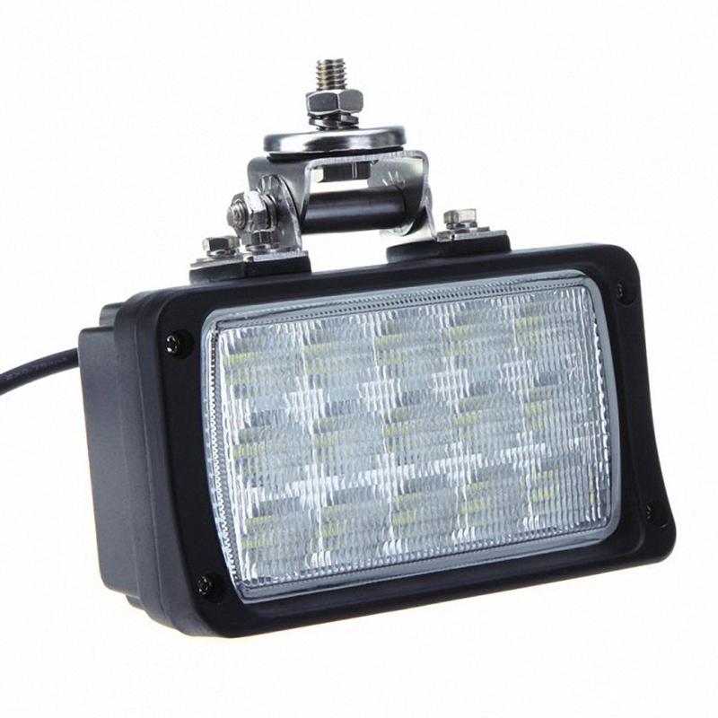 45w 10 30v led work light off road lamp flood headlight truck suv. Black Bedroom Furniture Sets. Home Design Ideas