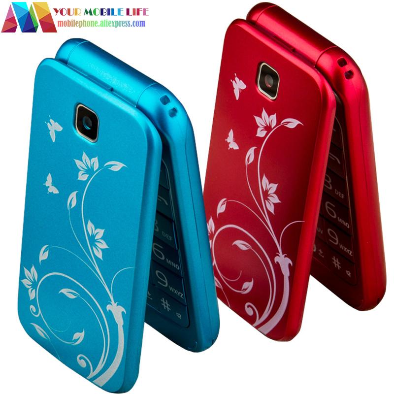 In Stock! Flip Phone clamshell FORME C3 dual sim bluetooth telefon cellphone celular original cell phone unlocked mobile phone(China (Mainland))
