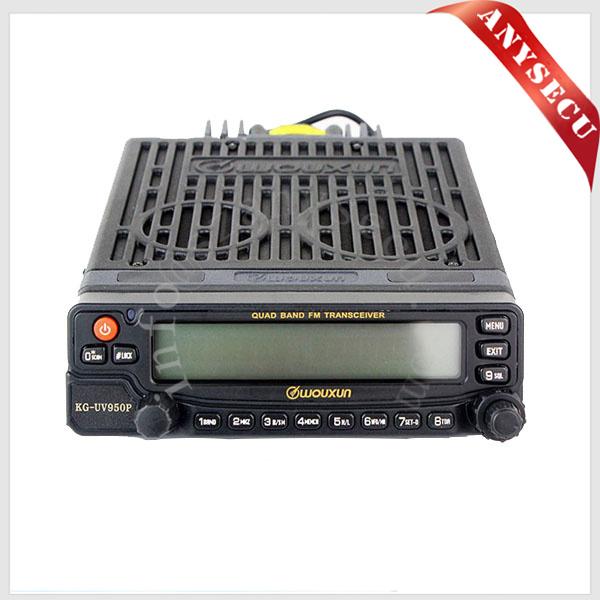 Wouxun двухдиапазонный kg-uv950p 999ch 50 вт мобильный автомобиля трансивер двусторонней радиосвязи