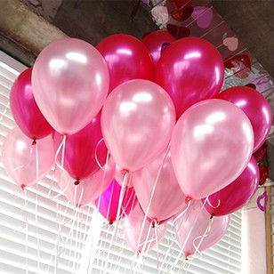Hot sale 100pcs/lot 10inch 1.2g Round Latex Pearl balloons,Wedding Party balloon Free mixed or single color can be customized