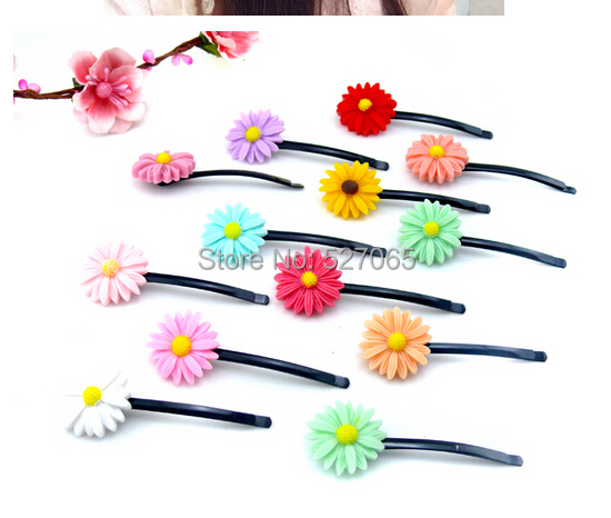 Little daisy flower hair accessory clip side-knotted bride hairpin maker accessories female - yongxiang s store