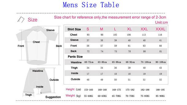 Keyiyuan одежда для велоспорта Джерси рубашки мужчин Гонки Спорт велосипед 008