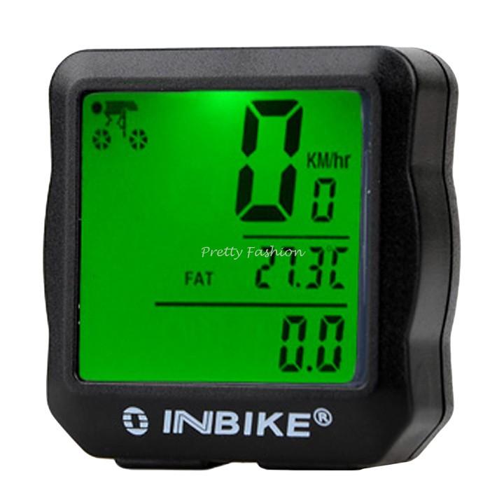 Multifunction Waterproof Digital Backlight Noctilucent Bicycle Computer Odometer Bike Speedometer Clock Stopwatch #7(China (Mainland))