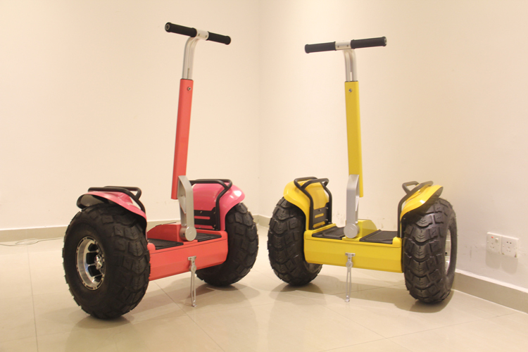 2015 new 19 2 wheel balance board scooters stand up 2000w for Stand on scooters with motor