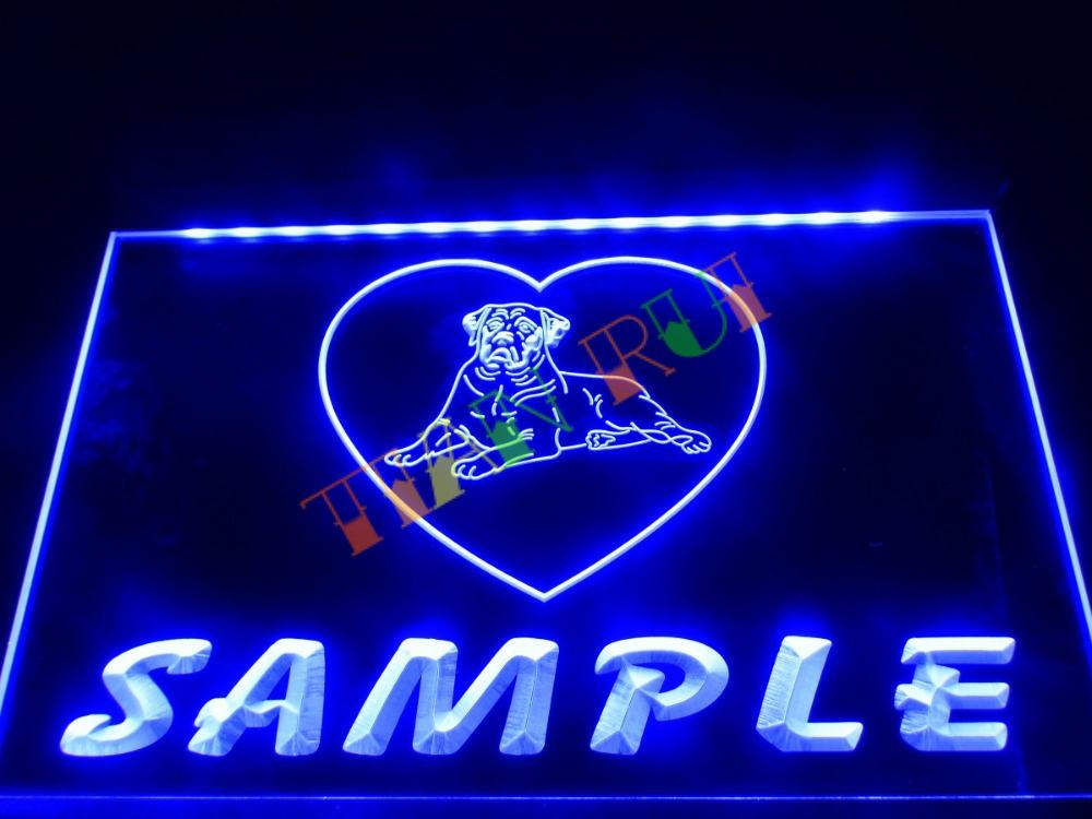 dz079 name personalized custom dog house home neon sign hang sign home decor shop crafts in. Black Bedroom Furniture Sets. Home Design Ideas