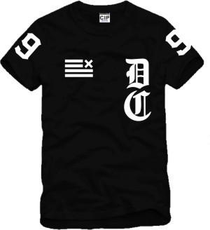 Dark Tide DXPE Chef slide Printed Mens Men T Shirt Tshirt Fashion 2015 New Short Sleeve O Neck Cotton T-shirt Tee(China (Mainland))