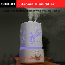 2016 Aromatherapy diffuser air humidifier LED Night Light With Carve Design Ultrasonic humidifier air Aroma Diffuser mist maker(China (Mainland))