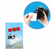 1pc 50 Sheets Soft Camera Lens Optics Tissue Cleaning Clean Paper Wipes Booklet(China (Mainland))