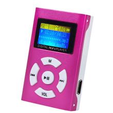 Nuevos Productos Electrónicos de Descarga Gratuita de Música Reproductor de MP3 Portable Del Deporte con el Mini Clip De Metal y Ranura Para Tarjeta TF y LCD pantalla