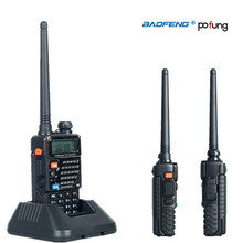 Dual Band Two Way Radio Baofeng UV-5RE Walkie Talkie Pofung UV 5RE 5W 128CH UHF VHF FM VOX UV5RE Dual Display radio comunicador