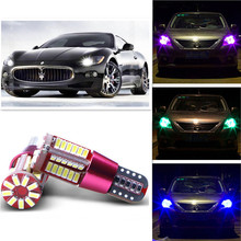 T10 w5w 194 168 57smd 4014 Car Projector Lens canbus error free Auto Clearance Lights For Maserati(China (Mainland))