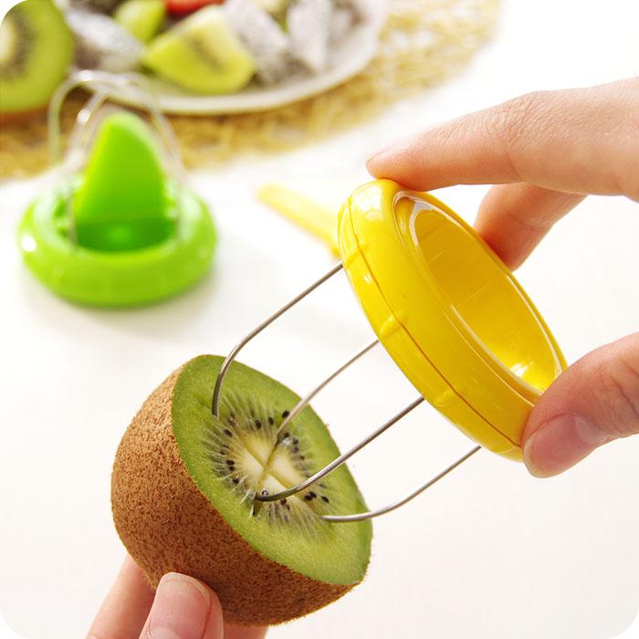 Creative Stainless Steel Kiwi Peelers Peeler Zester Tool Fruit Skin Segmentation Tools(China (Mainland))