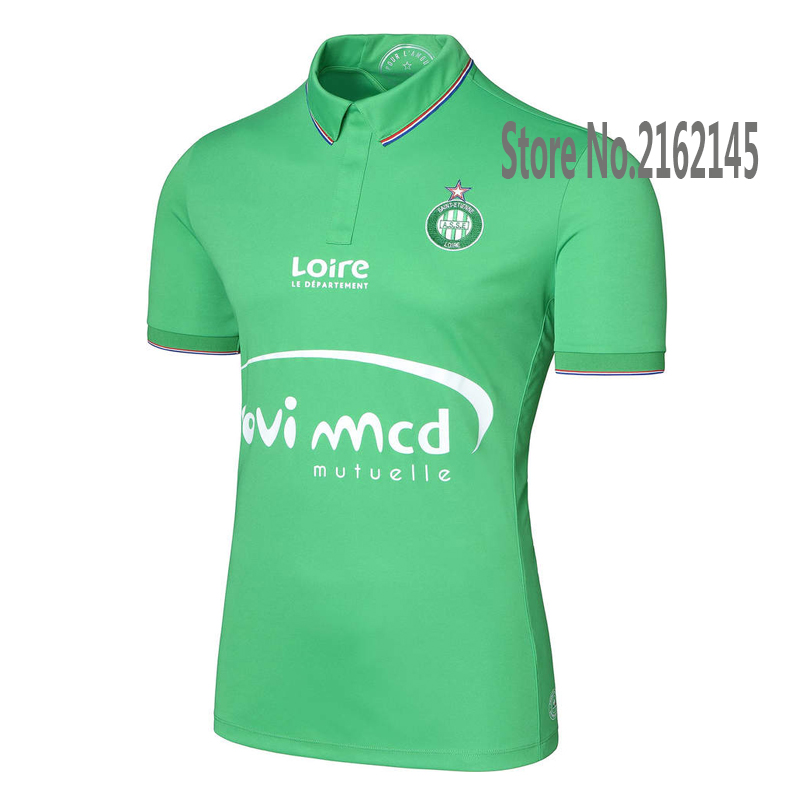 New AS Saint-Etienne 2016 Home Soccer Jerseys AS Saint Etienne FOOTBALL SHIRTS Saint-Etienne Men football clothes Best quality(China (Mainland))