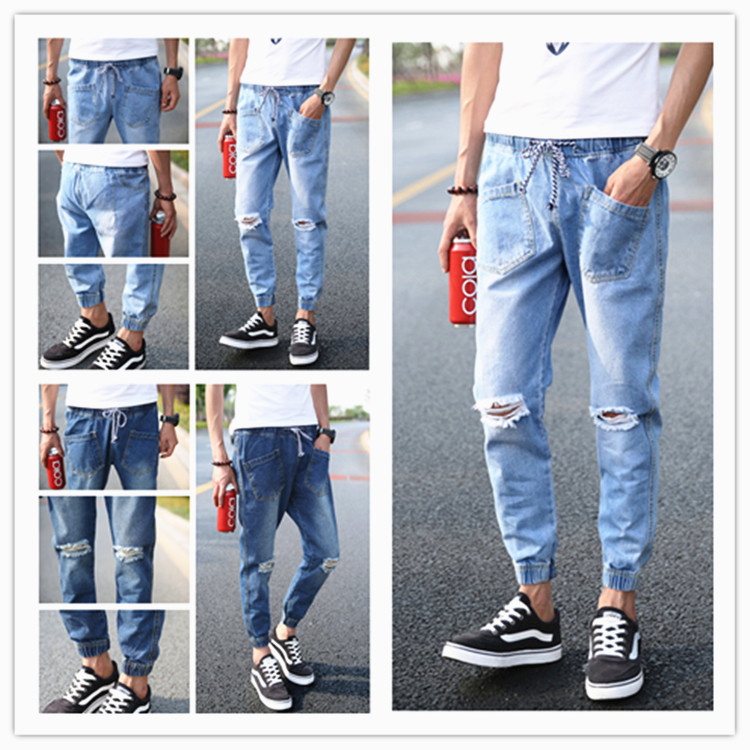 jeans with holes mens - Jean Yu Beauty