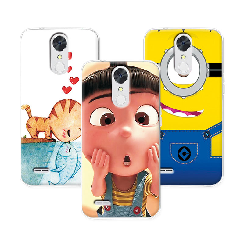 """11 Styles Cool Painting Case Cover LG LV5, Soft TPU Silicon Cover LG K10 2017 X400 M250 M250N 5.3"""" Case"""