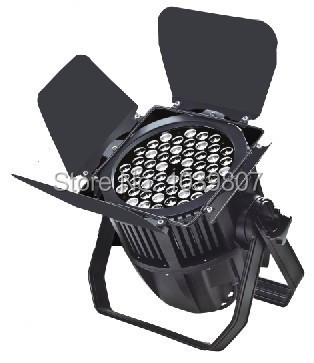 Warm White 3200K Stage led par light DMX512 Control Stage Show Theater Church Led light with Baffle plate leaves Dimmer Strobe(China (Mainland))