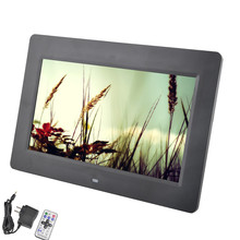 10.1 Inch Digital Photo Frame 16:9 Screen with Automatic Play Remote Control1280x720 Picture Frame Support MPEG1/MPEG2/MP4/H.264(China (Mainland))
