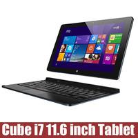Original Tablet pc cube I7 11.6 inch 4GB RAm 128GB Intel Core M 5Y10C Bluetooth OTG HDMI Windows 8.1 Original WCDMA 1920*1080