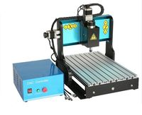 3 Axis CNC Router 3020 600W Air-cooled Spindle USB Port Engraving Machine PCB Color plate PVC Acrylic Woodworking New