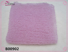 New Arrival Mohair baby photography props Newborn Photography Wraps Handmade Flower Headband Baby Photo props Accessories