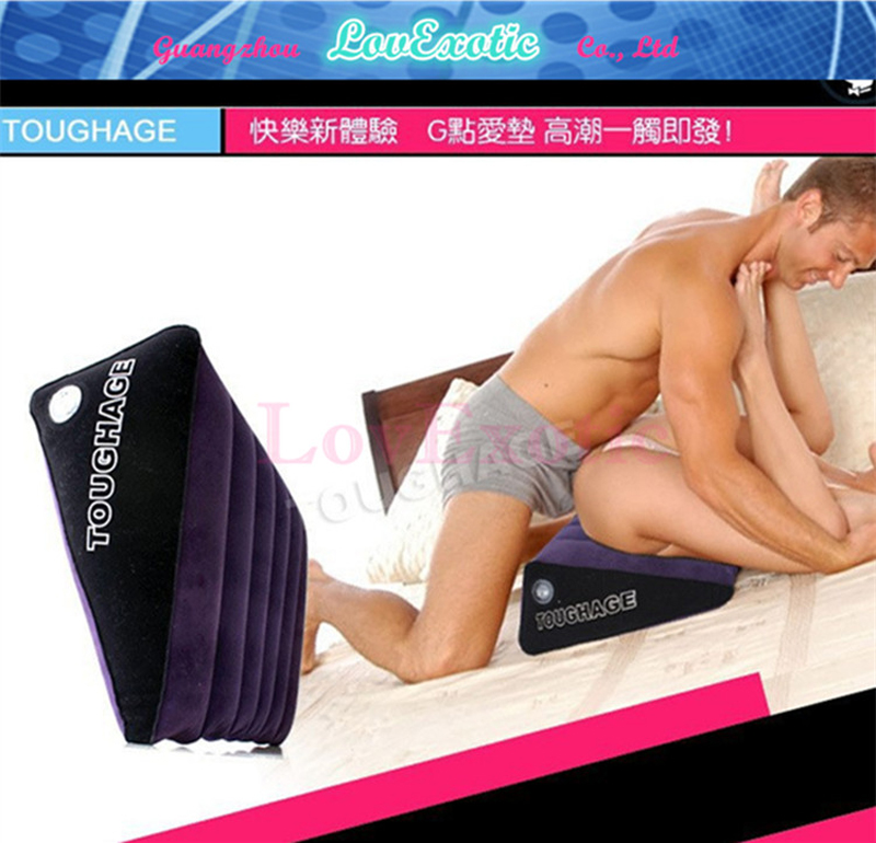 Sex Pillow TOUGHAGE G-Spot Sex Magic Cushion Versatile Inflatable Cushion Sex Furnitures For Couple Adult Sex Product(China (Mainland))