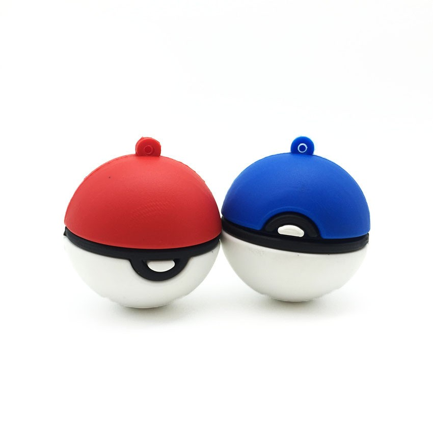 2016 Pokemon Ball USB Flash Drive 128GB 64GB 32GB 16GB 8GB 4GB Pokeball Pendrive USB Pens Stick Flash Disk Memory Storage Device
