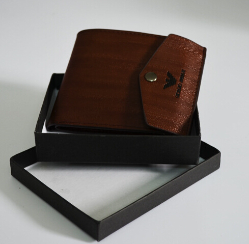Exquisite packaging Design Quality men wallets genuine leather purse fashion clutch wallet dollar price portfolio male