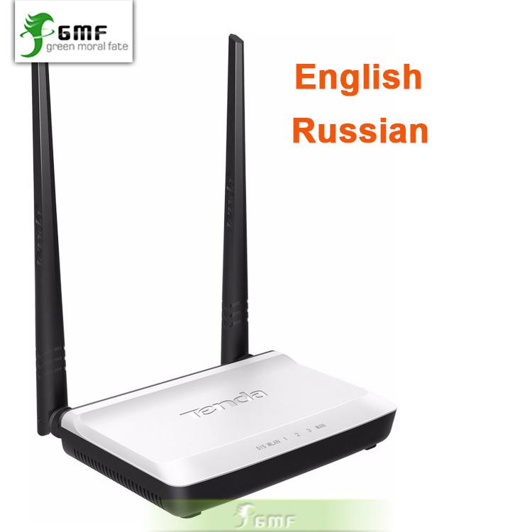 English/Russian Firmware Tenda N300 Easy Install 300Mbps Wireless Router Broadband AP Router Range Extender 1 WAN + 3 LAN Ports(China (Mainland))