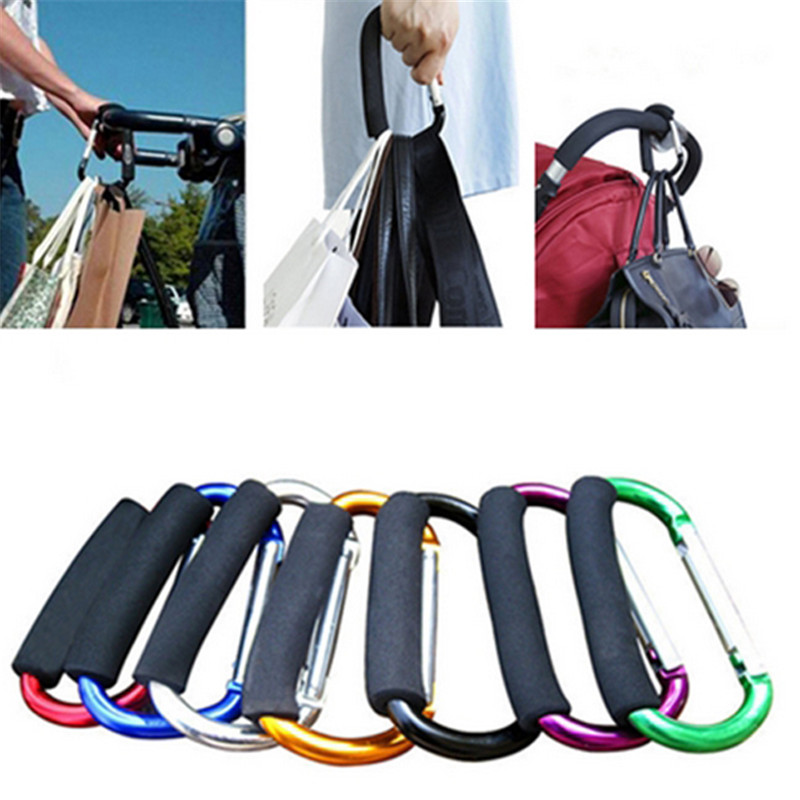 Bag Hook Stroller Shopping Hook Accessories Pram Hooks Hanger for Baby Car Carriage Buggy 13.5*8*1.2cm DP878116(China (Mainland))