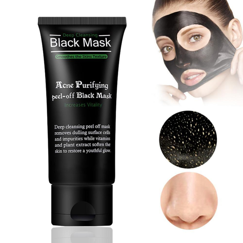 Black Mask Face Mask Blackhead Remover Deep Cleansing Purifying the Black Head Acne Treatments Face Mask Skin Care Face Care