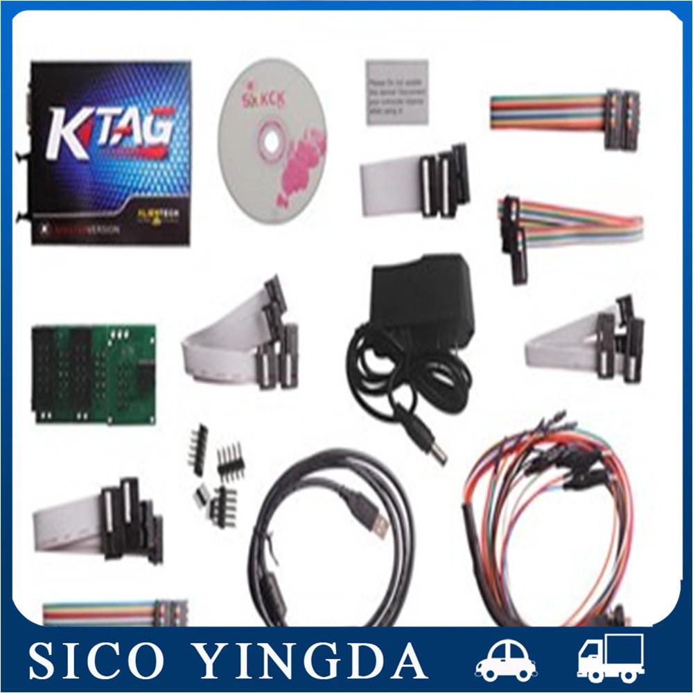 2015 Newest K TAG ECU Programming Tool K-TAG Master Version Software V2.06 KTAG ECU Chip multi Languages 100% J-Tag Compatible(China (Mainland))