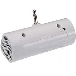 Hotsale 3.5mm Mini Portable Stereo Speaker For iPhone 5 4 4S Samsung iPod MP3 MP4 Laptop(China (Mainland))