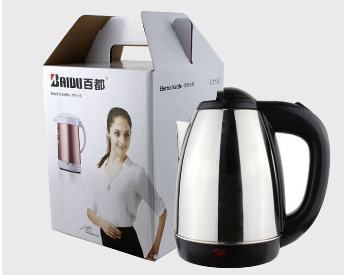 1.5L BAIDU Electric Kettles Stainless steel safety automatic-power function 1800W - We are waiting for you store