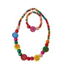 Princess Necklace Bracelet Jewelry Set Toddler Kids Costume Jewelry for Kids(China)