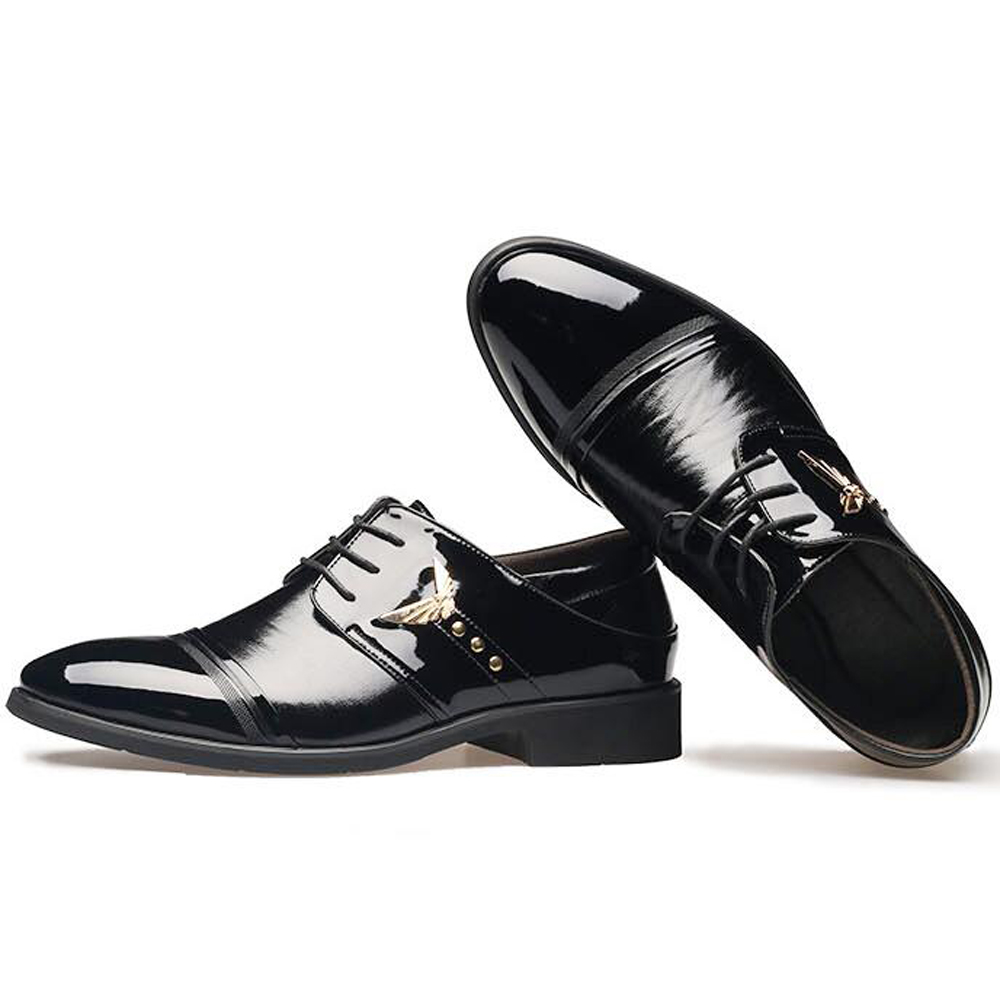 get cheap shiny black shoes aliexpress