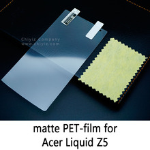 Glossy Clear Lucent Frosted Matte Anti glare Tempered Glass Protective Film On Screen Protector For Acer Liquid Z5 Dual Duo Z150