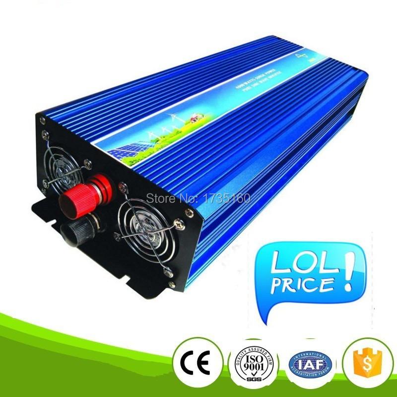 Doubel Digital Display 5000W Pure Sine Wave Inverter 24V /48V DC Input 220V/230V AC Output For Air-condition/Refrigerator/ Pump<br><br>Aliexpress