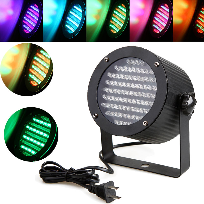 86 RGB LED Light DMX Lighting Projector Stage Party Show Disco Professional high power 4 Channel DMX-512 LED Stage Light(China (Mainland))