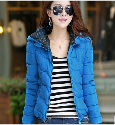 Free shipping Fashion winter coats women short wave with thick cotton-padded jacket winter coat of cultivate ones moralityD-119Одежда и ак�е��уары<br><br><br>Aliexpress